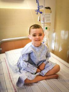 Lubiński Igor przeszedł operację chirurgiczną, w oczekiwaniu na operację