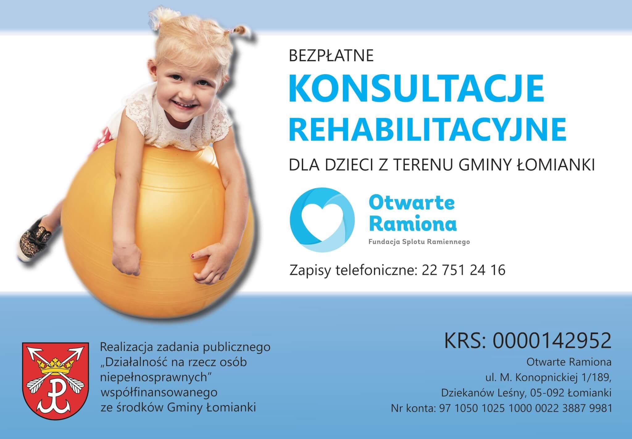 Bezpłatne konsultacje Łomianki; Fundacja Otwarte Ramiona